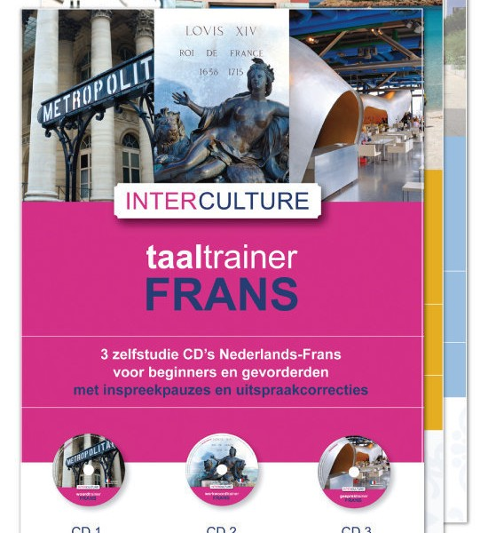 Interculturele Taaltrainer Frans 7 cd's